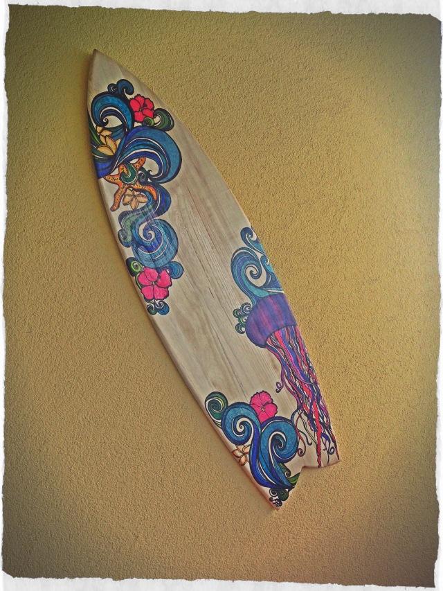 surfboard deko