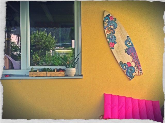 surfboard terrasse